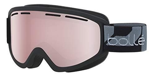 bollé Erwachsene Schuss Skibrillen, Matte Black, Medium