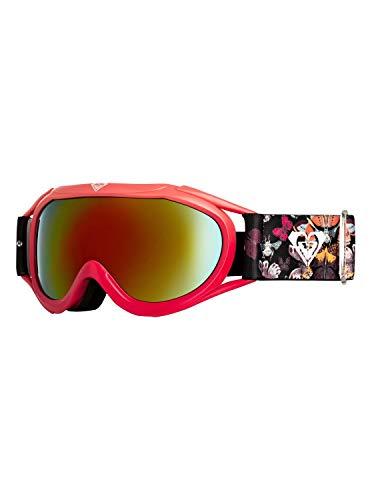 Roxy Mädchen Snowboard-/skibrille Loola 2.0 - Snowboard-/Skibrille2-12, true black butterfly, 1SZ, ERGTG03012