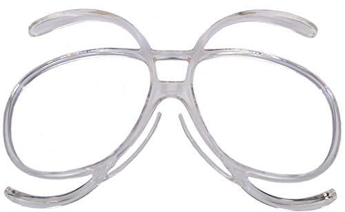 Rapid Eyewear Skibrille & SNOWBOARDBRILLE OPTIKADAPTER Clip für Damen und Herren, die eine Optische korrekturgläser Benötigen. Auch für Bergsteigerbrille, Sport und Motocross
