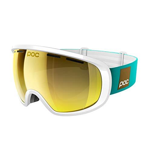 POC Ski Brille Fovea Clarity Blunck Ed, Hydrogen White/Spektris Gold, One Size, 40422