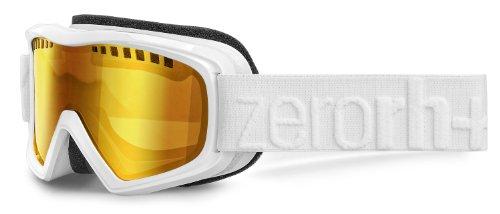 zero rh+ Skibrille Rock, Weiß Glänzend, One Size