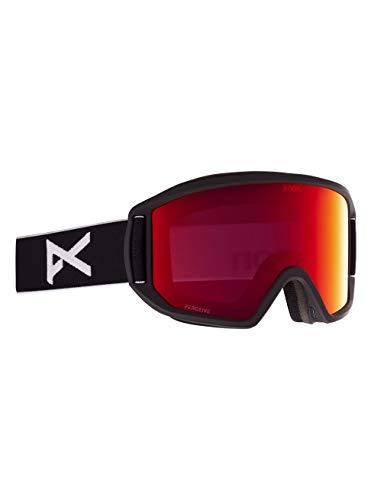 Anon Herren Relapse Snowboard Brille, Black/Perceive Sunny Red