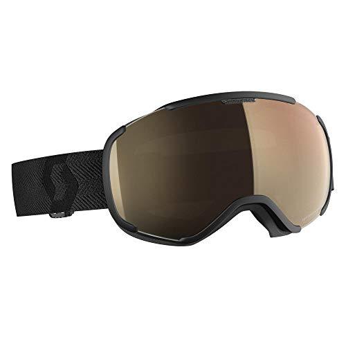 Scott Faze II Long-Sleeve Goggle Braun-Schwarz, Skibrille, Größe One Size - Farbe Black - Light Sensitive Bronze Chrome