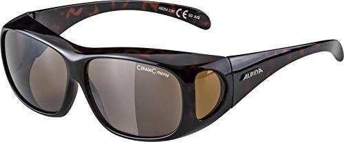 ALPINA Unisex - Erwachsene, OVERVIEW Sonnenbrille, havana, One size