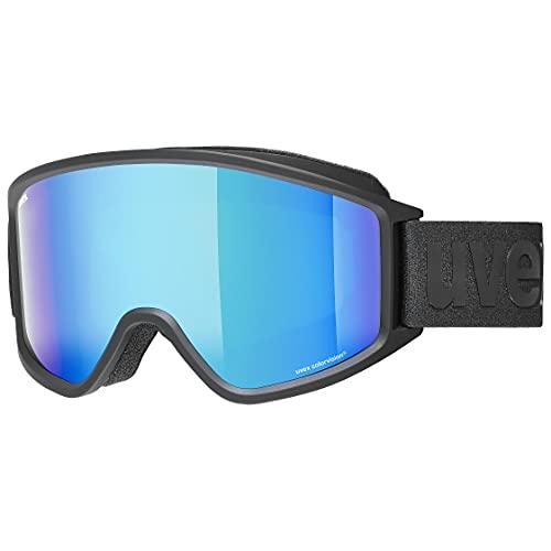 uvex Unisex– Erwachsene, g.gl 3000 CV Skibrille, black mat, one size