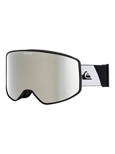 Quiksilver Herren Storm-Snowboard-/Skibrille für Männer, True Black, 1SZ