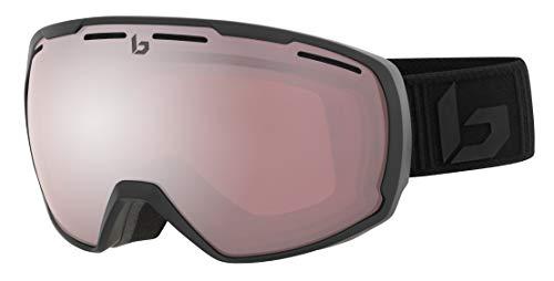 Bollé Unisex– Erwachsene Laika Skibrillen Matte Black Corp Small/Medium