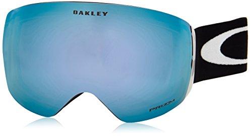 Oakley Erwachsene Snowboardbrille Flight Deck PRIZM Injected Unisex Google, Matte Black, L
