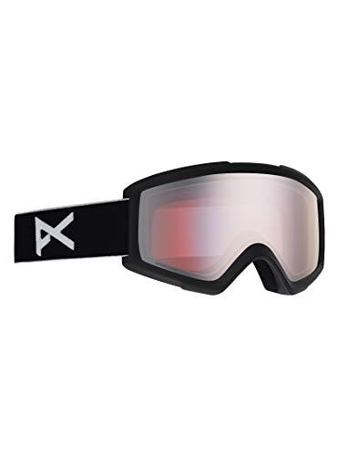 Anon Herren Helix 2 with Spare Snowboardbrille, Black/Sonar Silver