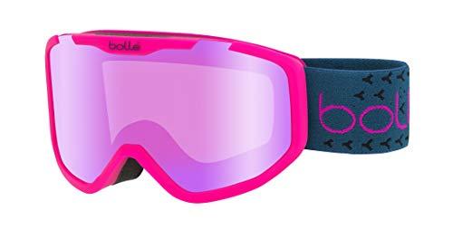 Bollé Mädchen Rocket Plus Skibrillen, Matte Pink & Blue, Small