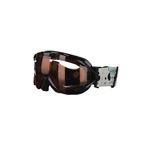Carrera Damenskibrille Dahlia, black points, Super Rosa Sph Polar