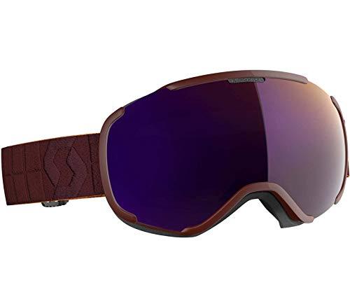 Scott Faze II Goggle Grün-Schwarz, Skibrille, Größe One Size - Farbe Black - White - Enhancer Green Chrome
