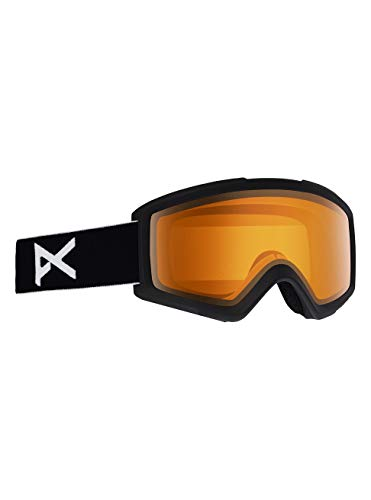 Anon Herren Helix 2.0 Non Mirror Snowboardbrille, Black/Amber, One Size