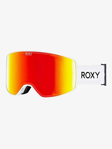 Roxy Damen Storm Women Snowboard-/Skibrille, Bright White, One Size
