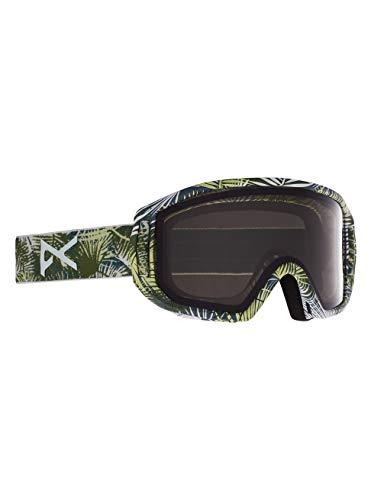 Anon Unisex Jugend Relapse Jr MFI Snowboard Brille, Camo Green/Smoke