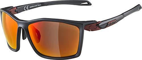 ALPINA Unisex - Erwachsene, TWIST FIVE CMR+ Sportbrille, indigo matt-cherry, One size