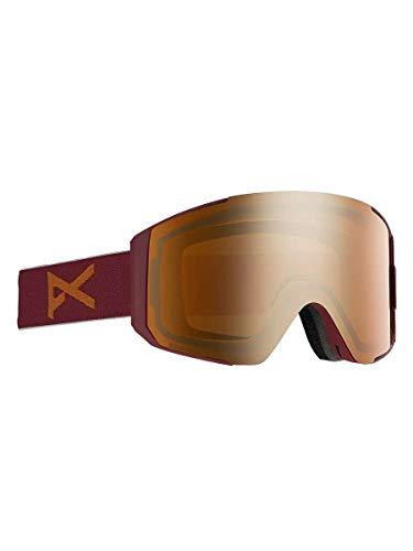 Anon M Sync with Spare Lens Braun-Rot, Herren Skibrille, Größe One Size - Farbe Maroon - Sonar Bronze - Sonar Infrared