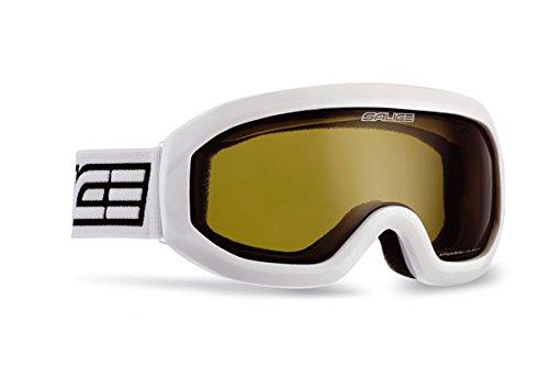 Salice, 992DA Skibrille SR, in Multipack, 12 Stück, weiß, Unisex, Erwachsene, Einzigartig