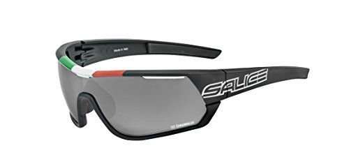 Salice Fahrradbrille 016ITACRX Einheitsgröße Schwarz