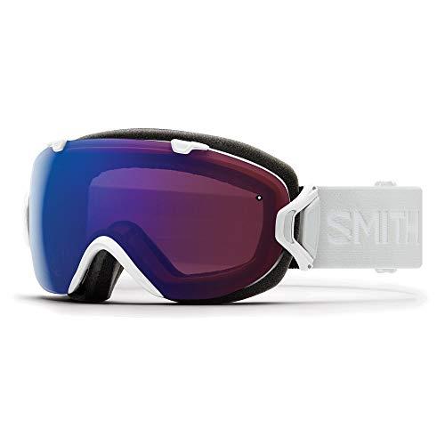Smith Optics I/Os Skibrille, Damen M Weiß (Dampf) / rosa (photochromer Blitz)