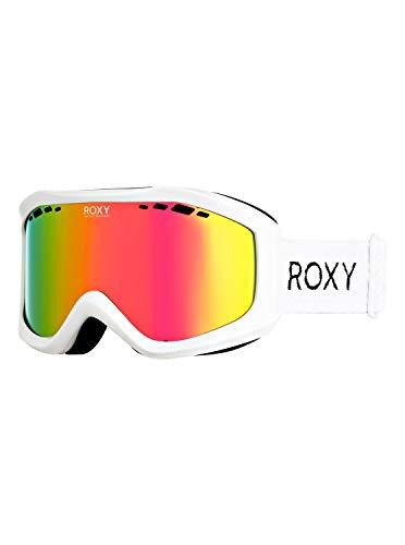 Roxy Damen Snowboard-/skibrille Sunset - Snowboard-/Skibrille, bright white, 1SZ, ERJTG03111