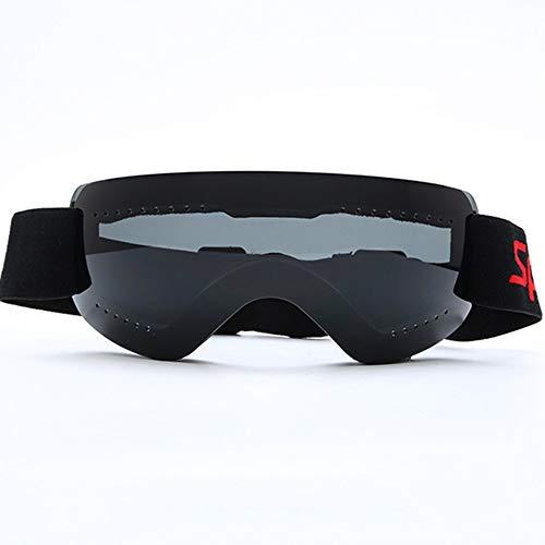LG Schnee Ultraleichte Randlos Anti-Fog Anti-Wind Skibrille Schwarz Motocross Außenwintersport Reiten Ski Mountaineering Männer Frauen Kinder Geschenk