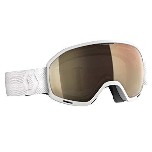 Scott Unlimited II OTG Light Sensitive Goggle Braun-Weiß, Skibrille, Größe One Size - Farbe White - Light Sensitive Bron