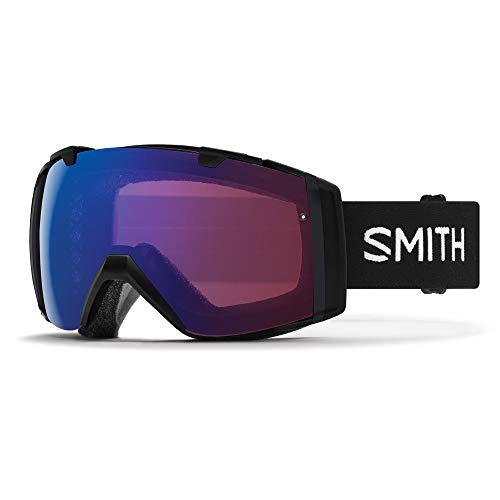 Smith Optics I/O Skibrille, Unisex, Erwachsene, Schwarz/Rosa (Photochromic Flash), M