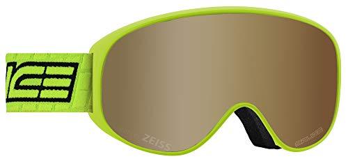 Salice 101TECH Skibrille SR Lime Lente Tech S2-S4 Unisex Erwachsene, Beschreibung Montatura:Lime, UNICA