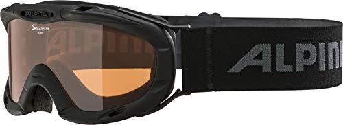 ALPINA RUBY S Skibrille, Kinder, black, one size