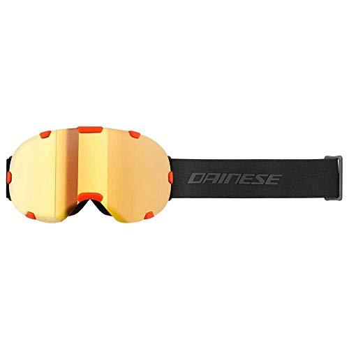 Dainese Skibrille HP Surface Skimaske Ski Brille Wintersport, Cherry Tomato