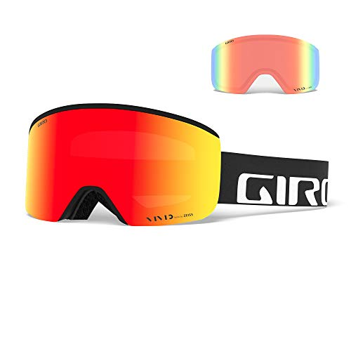 Giro Herren Skibrille AXIS, black wordmark, M, 300054-002