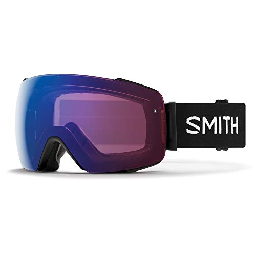 Smith Optics I/O Mag Skibrille, Schwarz/Rosa (photochromic Flash), M