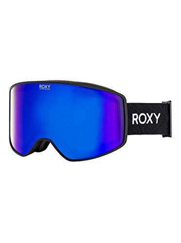 Roxy Damen Storm Women-Snowboard-/Skibrille für Frauen, True Black, 1SZ