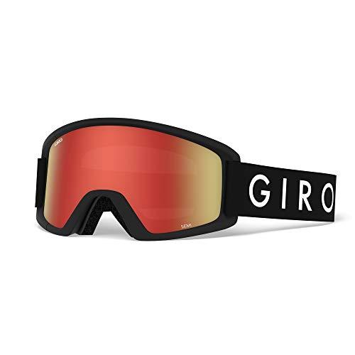 Giro Herren Semi Skibrille, Black core, Einheitsgröße