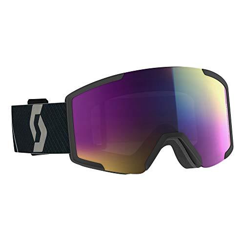 Scott Shield Skibrille schwarz Einheitsgröße