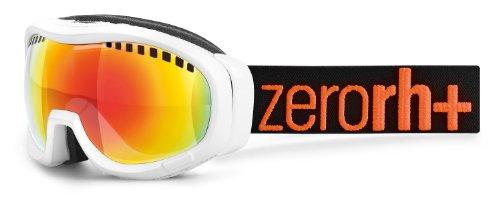 zero rh+ Skibrille Plasma, Weiß Matt-Weiß Glänzend