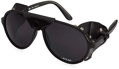 Alpland Bergbrille Gletscherbrille, Bergsteigerbrille, Kletterbrille Schutzbrille mit Filter, Cat. 4 !