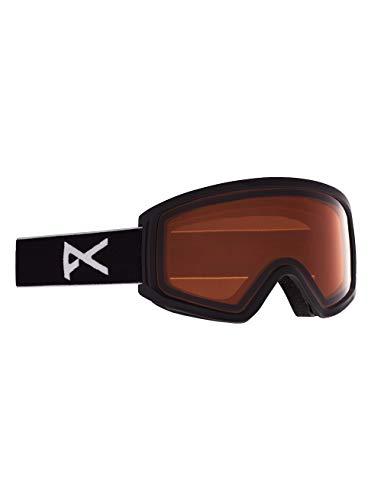 Anon Unisex Jugend Tracker 2.0 Snowboard Brille, Black/Amber