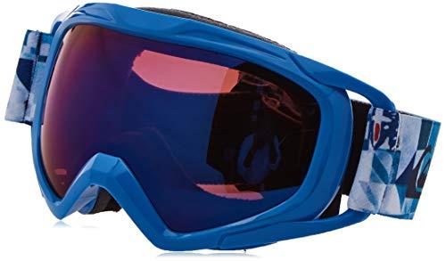 Quiksilver Jungen Eagle 2.0-Snowboard-/Skibrille 8-16, Brilliant Blue Check Forever, 1SZ