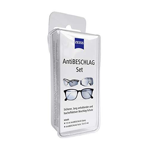 Zeiss AntiBeschlag-Spray mit 15ml Inhalt inklusive einem Brillen-Reinigungstuch für einen lang anhaltenden Beschlagschutz - auch bei hoher Luftfeuchtigkeit