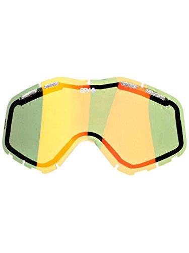 Spy Snow Goggle Ersatzglas Spare Lens Targa3, Bronze/Red Spectra, One Size