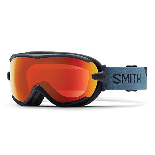 Smith Virtue Sph Damen Skibrille M Petrol/Everyday Red Mirror