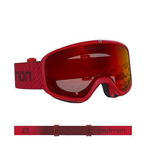 Salomon, Four Seven, Unisex-Skibrille, Rot (Matador)/Universal Mid Red, L40843900