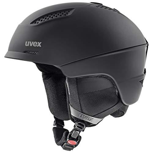 uvex Unisex- Erwachsene, ultra Skihelm, black mat, 51-55 cm