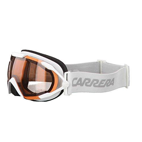 Carrera Damen Skibrille Dahlia Sph/us, White Matte