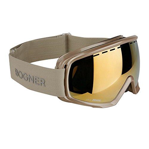Bogner Skibrille MONOCHROME Verspiegelte Doppelscheibe - CHAMPAGNE GOLD