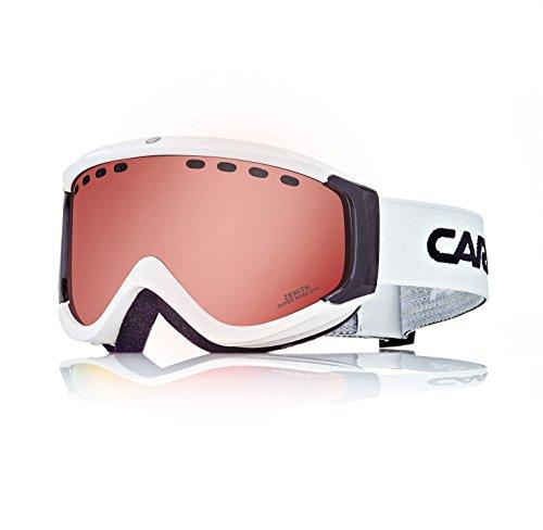 Carrera Skibrille Zenith/us, White Shiny