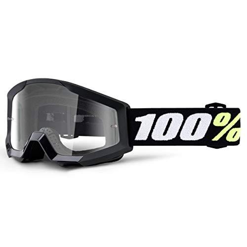 100% 50600-001-02 STRATA MINI Brille Schwarz - klar Linse