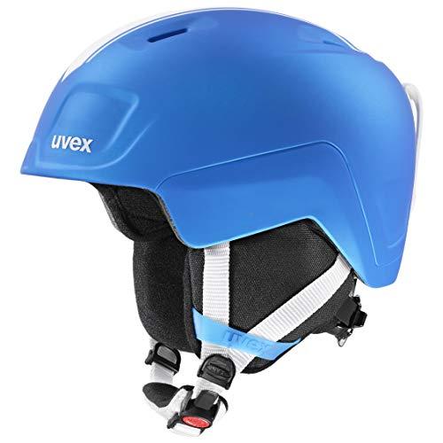uvex Unisex Jugend, heyya pro Skihelm, race blue mat, 51-55 cm